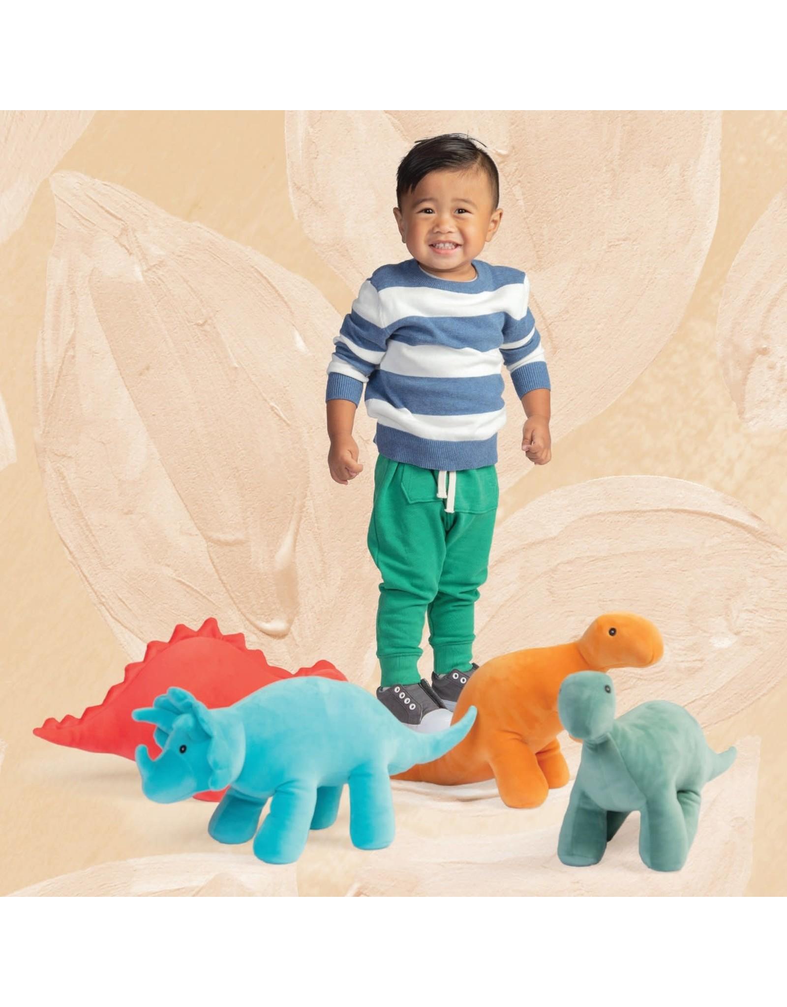Manhattan Toy Velveteen Dino Spike Plush