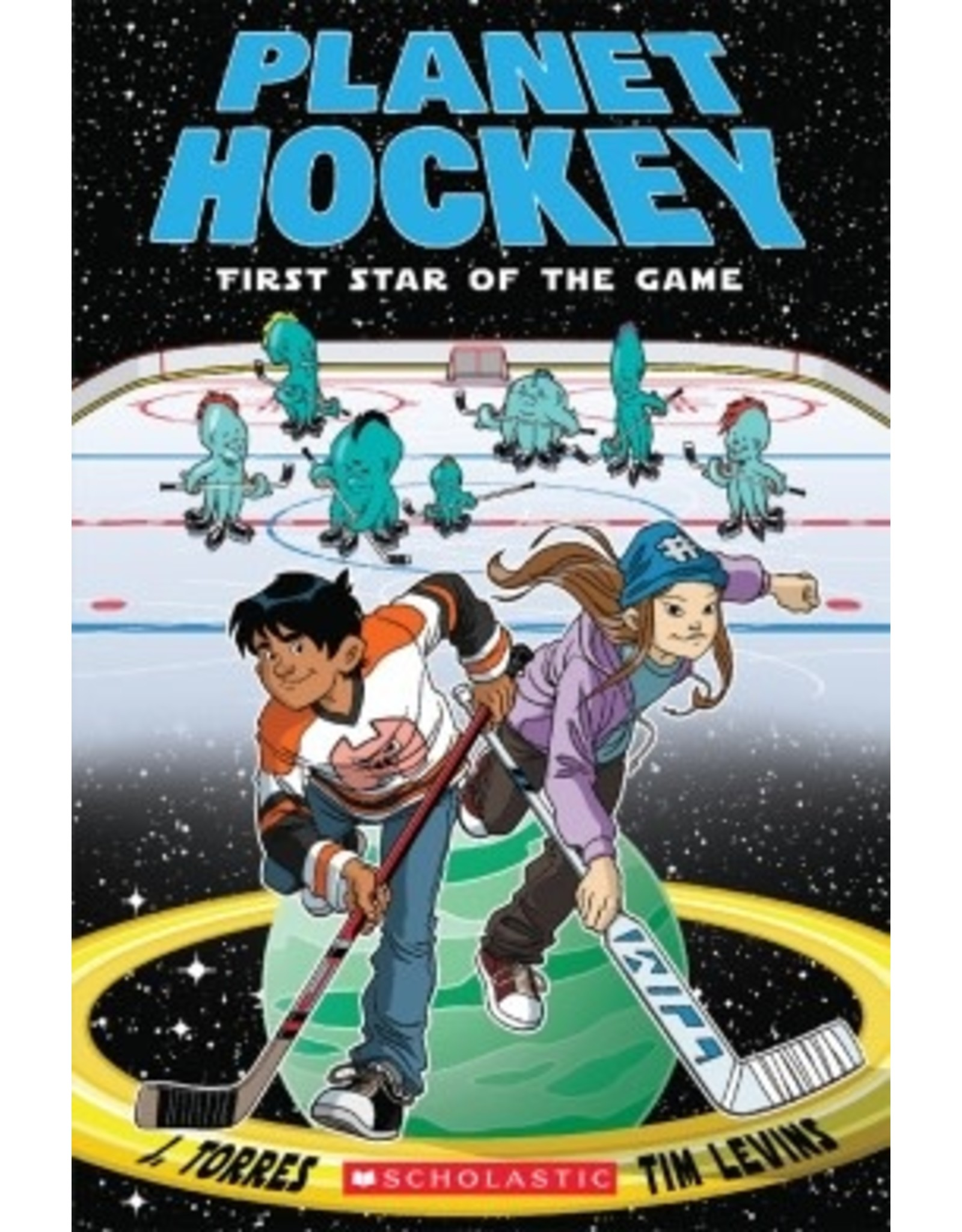 Scholastic Planet Hockey: First Star of the Game