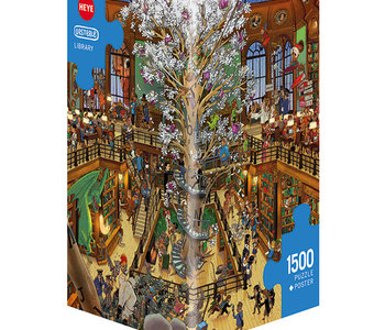 Library 1500pc Puzzle
