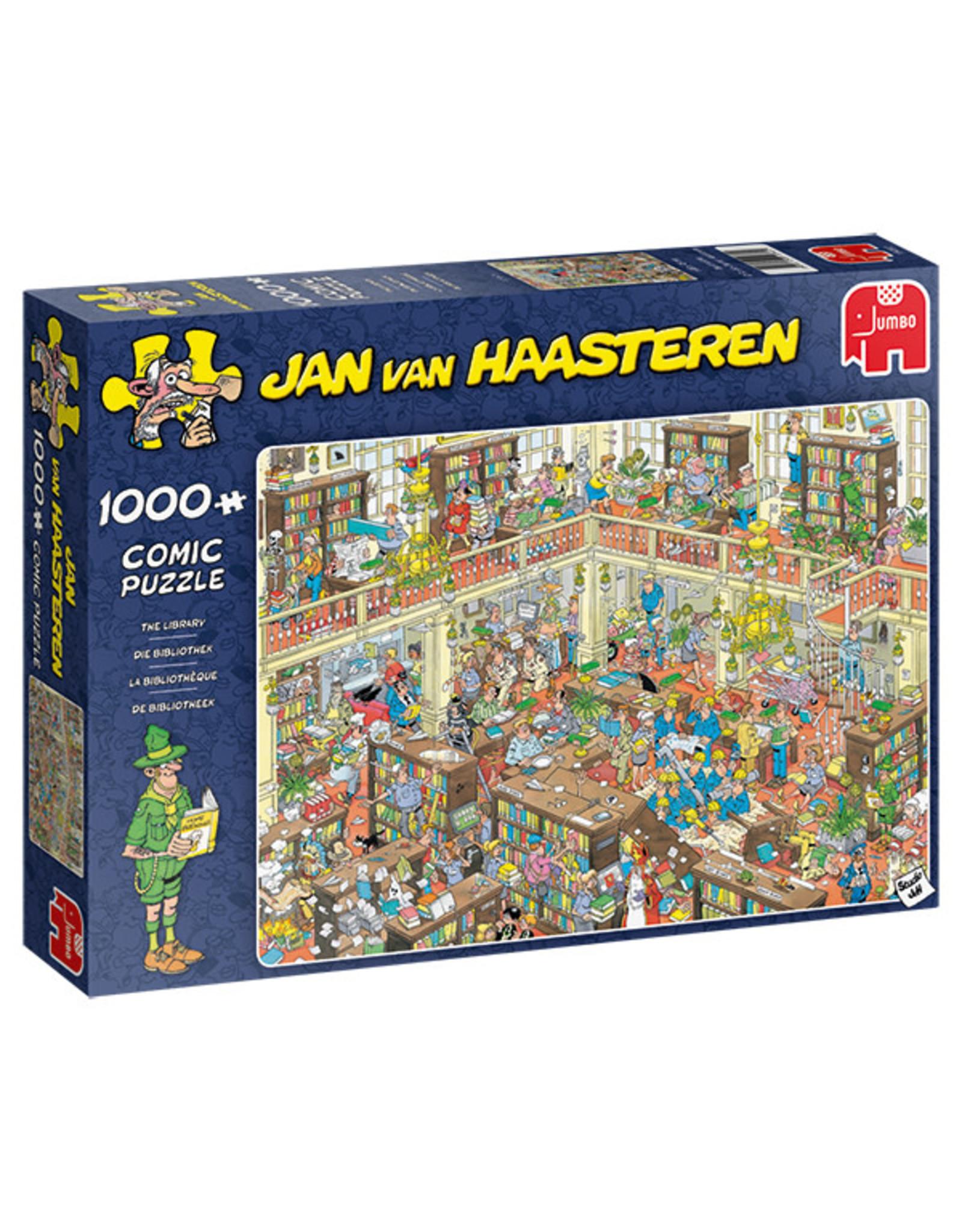 Jumbo Jan van Haasteren The Library 1000pc Puzzle