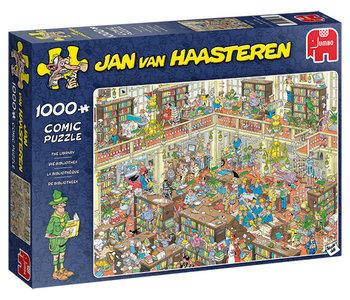 Jan van Haasteren The Library 1000pc Puzzle