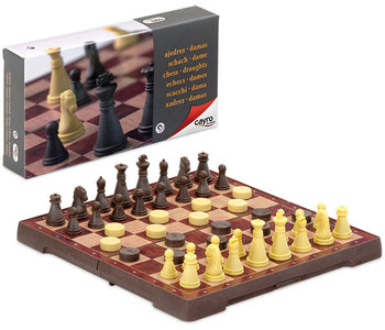 Magnetic  Chess & Draught small