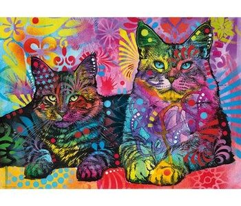 Devoted 2 Cats 1000pc Puzzle
