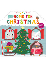 Priddy Books Little Friends Home For Christmas Lift the Flap Book