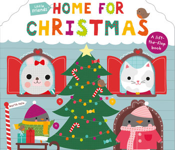 Little Friends Home For Christmas Lift the Flap Book