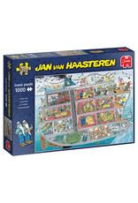 Jumbo Cruise Ship Jan van Haasteren 1000pc Puzzle