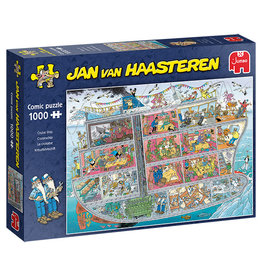 Jumbo Cruise Ship Jan van Haasteren 1000pc Puzzle