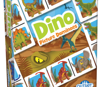 Dino Picture Dominoes