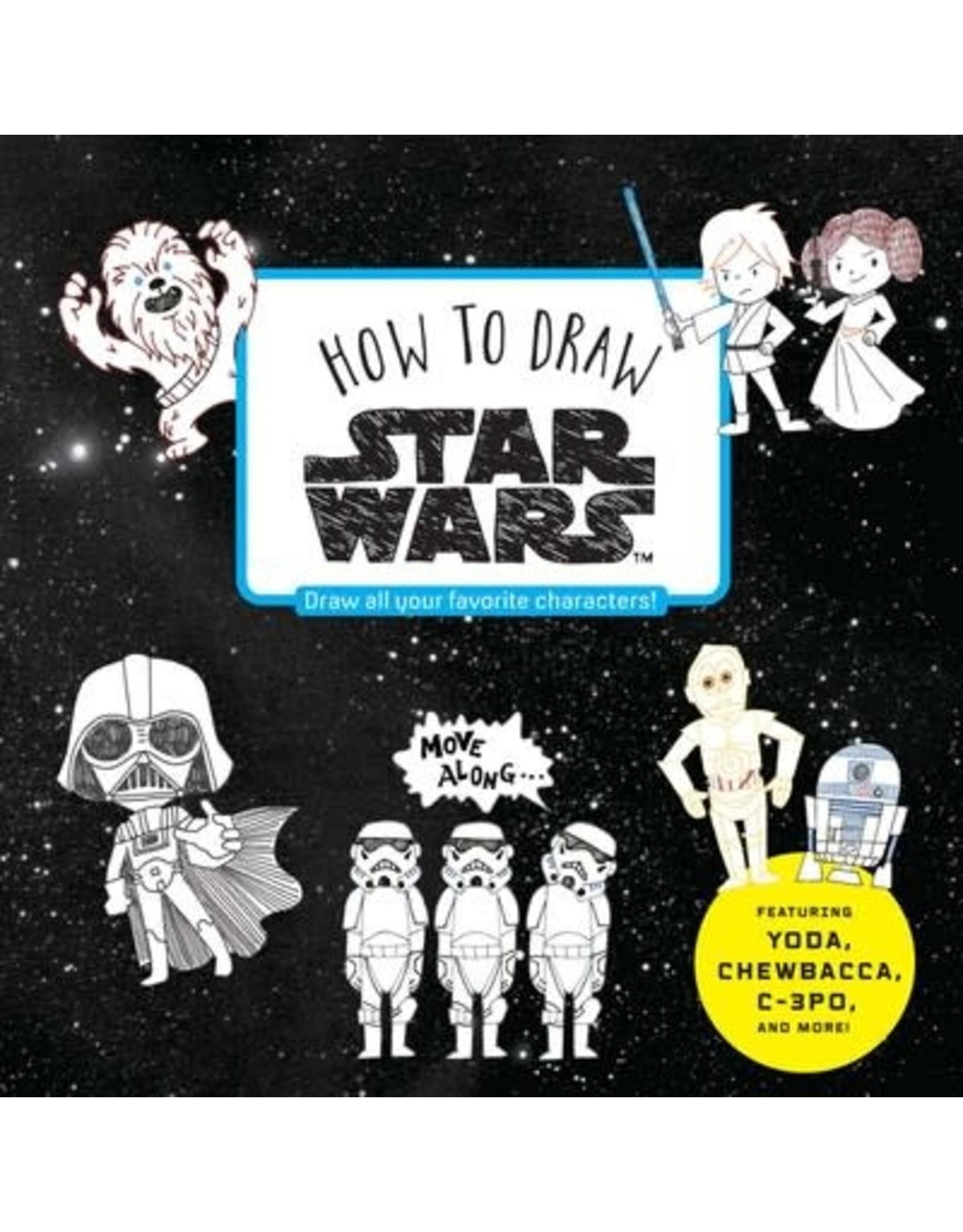 Disney Press How To Draw Star Wars