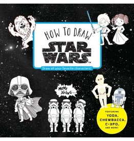 Disney Press How To Draw Star Wars