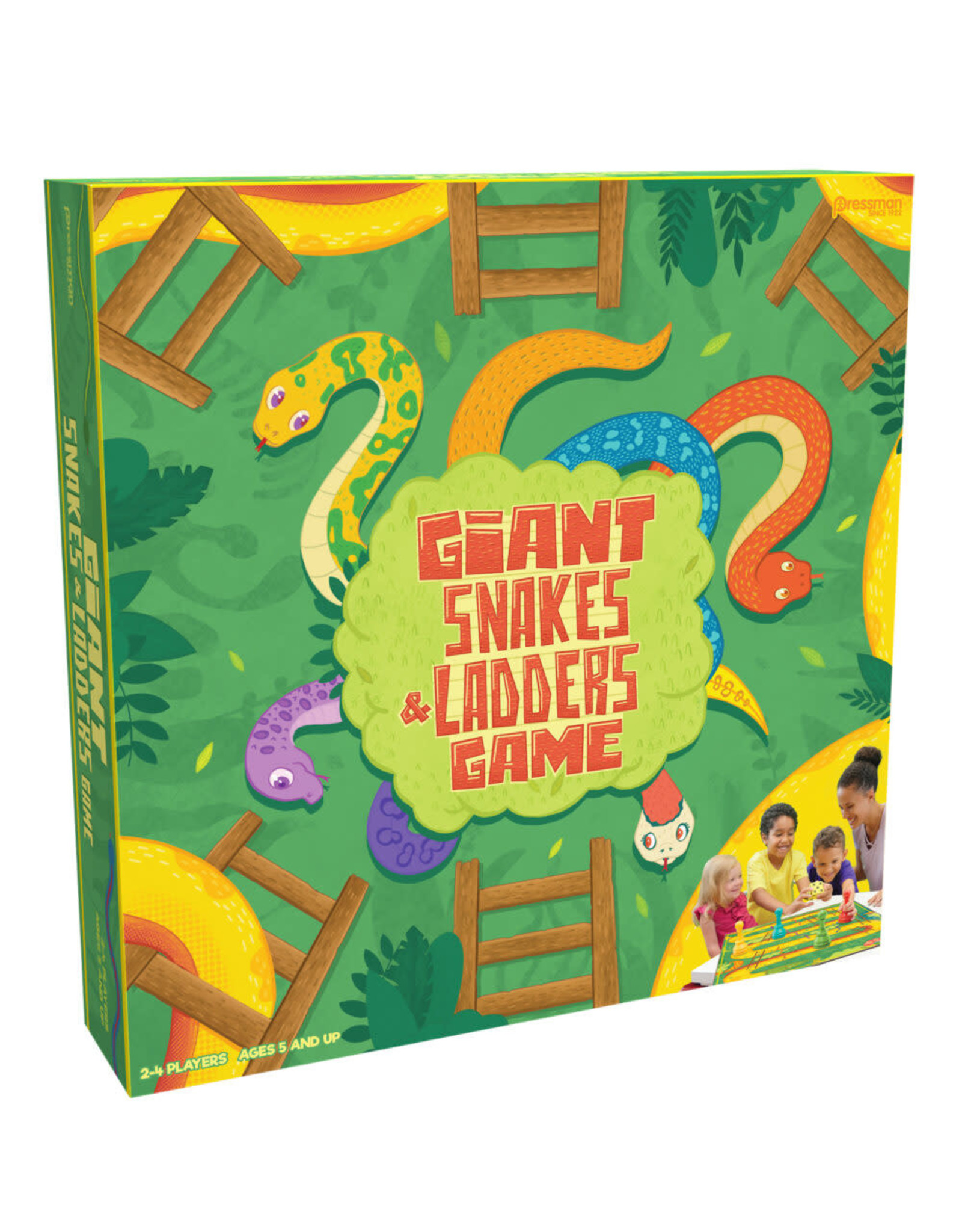 Pressman Giant Snakes and Ladders