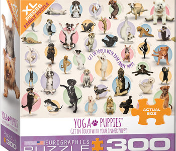 Yoga Puppies 300pc XL Puzzle