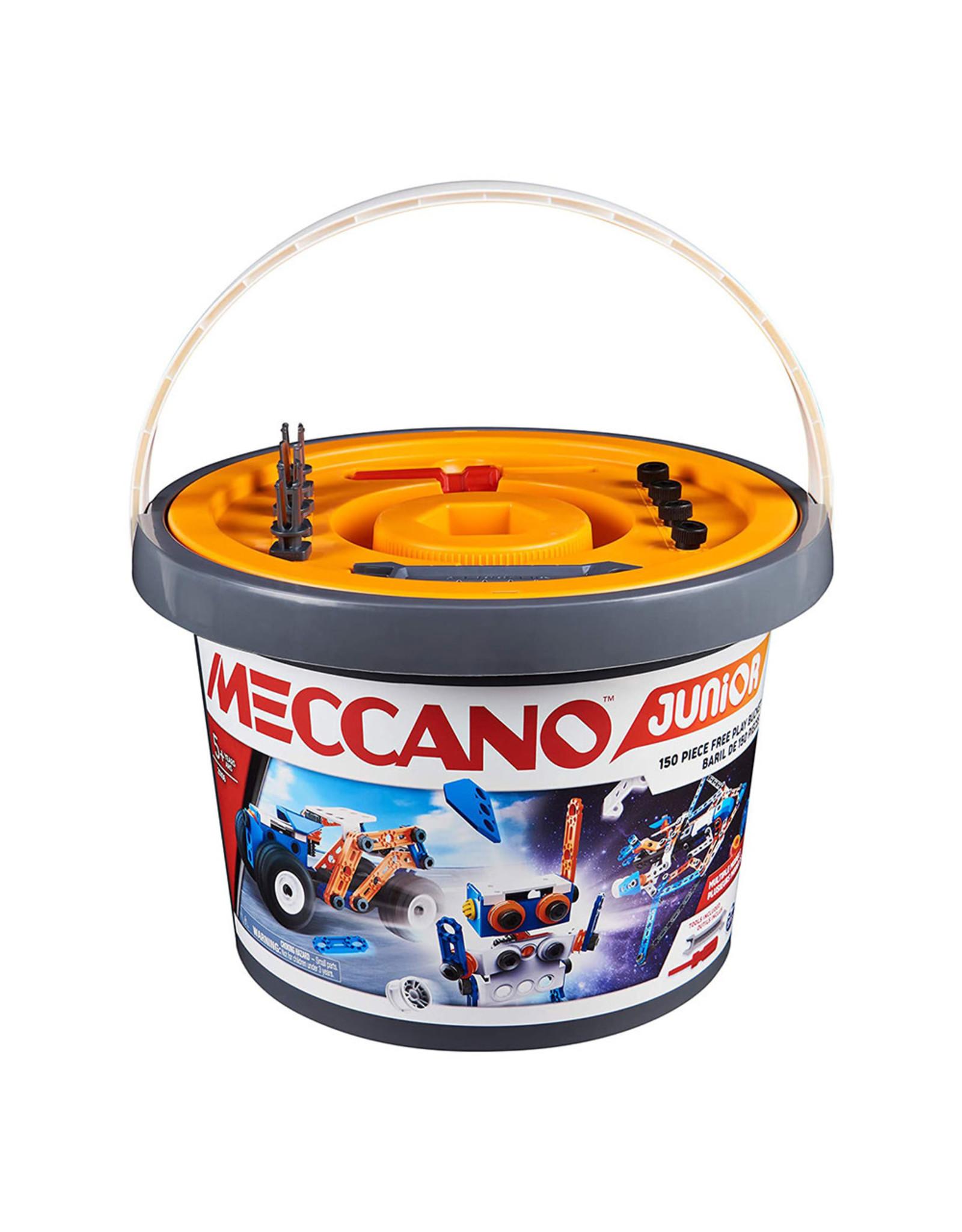 Meccano Meccano Junior Free-Play Bucket 150pc