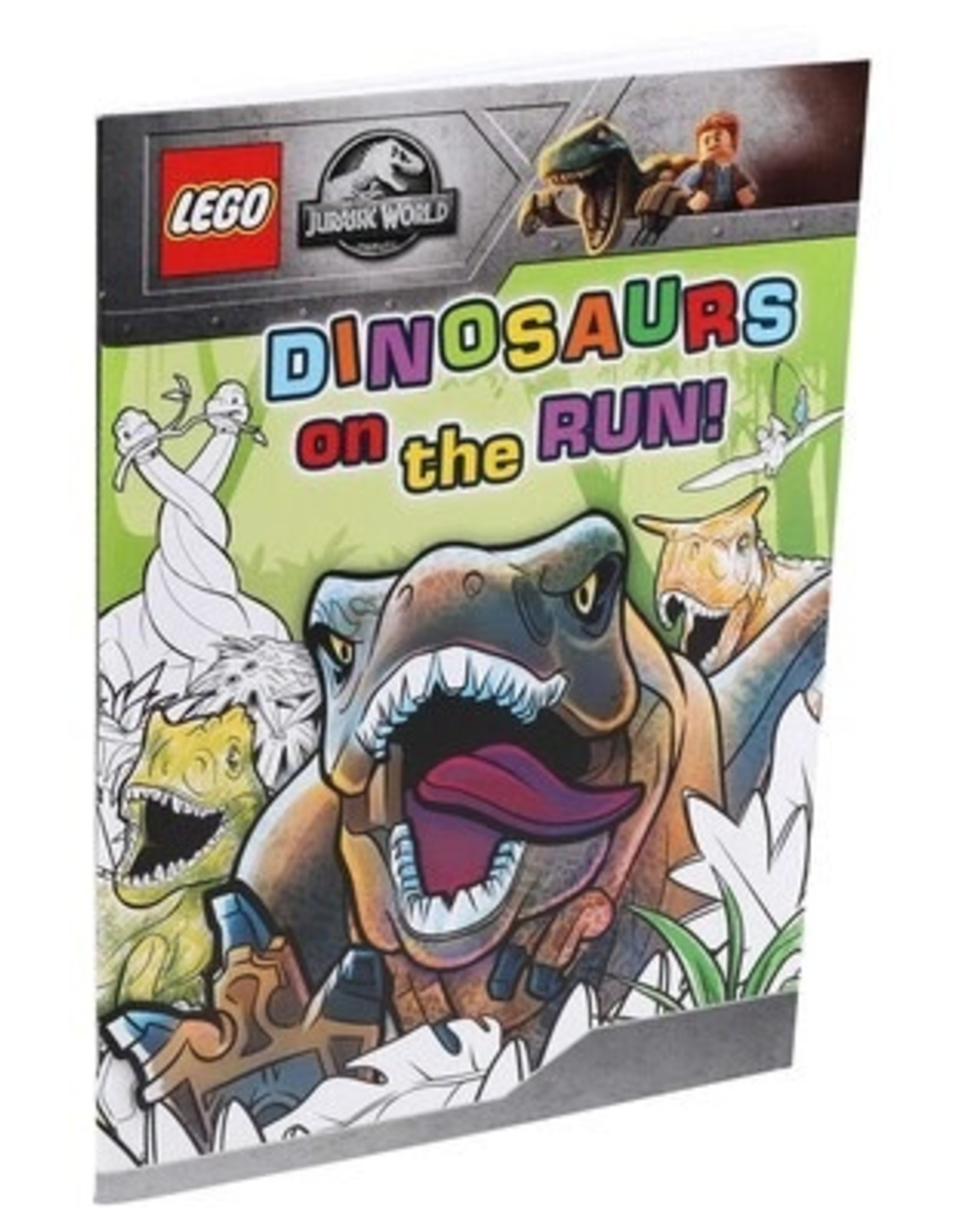 LEGO Dinosaurs on the Run!