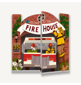 Friends At The Firehouse Lift-The-Flap Book