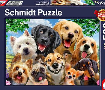 Dog Selfie 500pc Puzzle