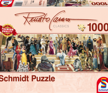 100 Years of Film Panorama 1000pc Puzzle