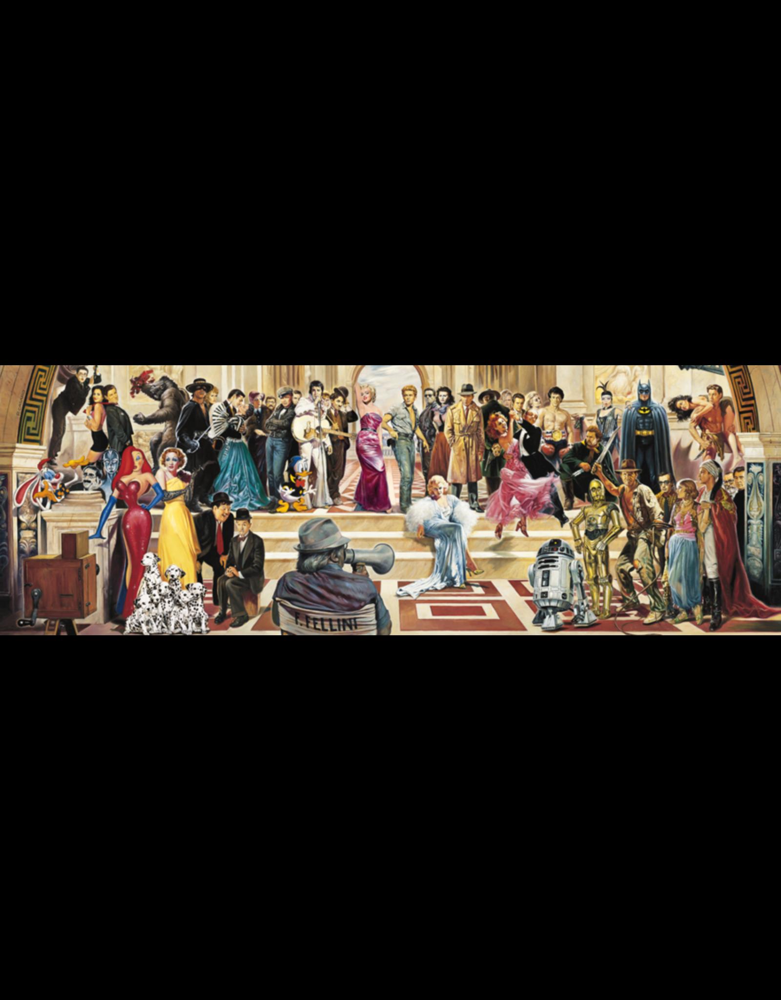 Schmidt 100 Years of Film Panorama 1000pc Puzzle