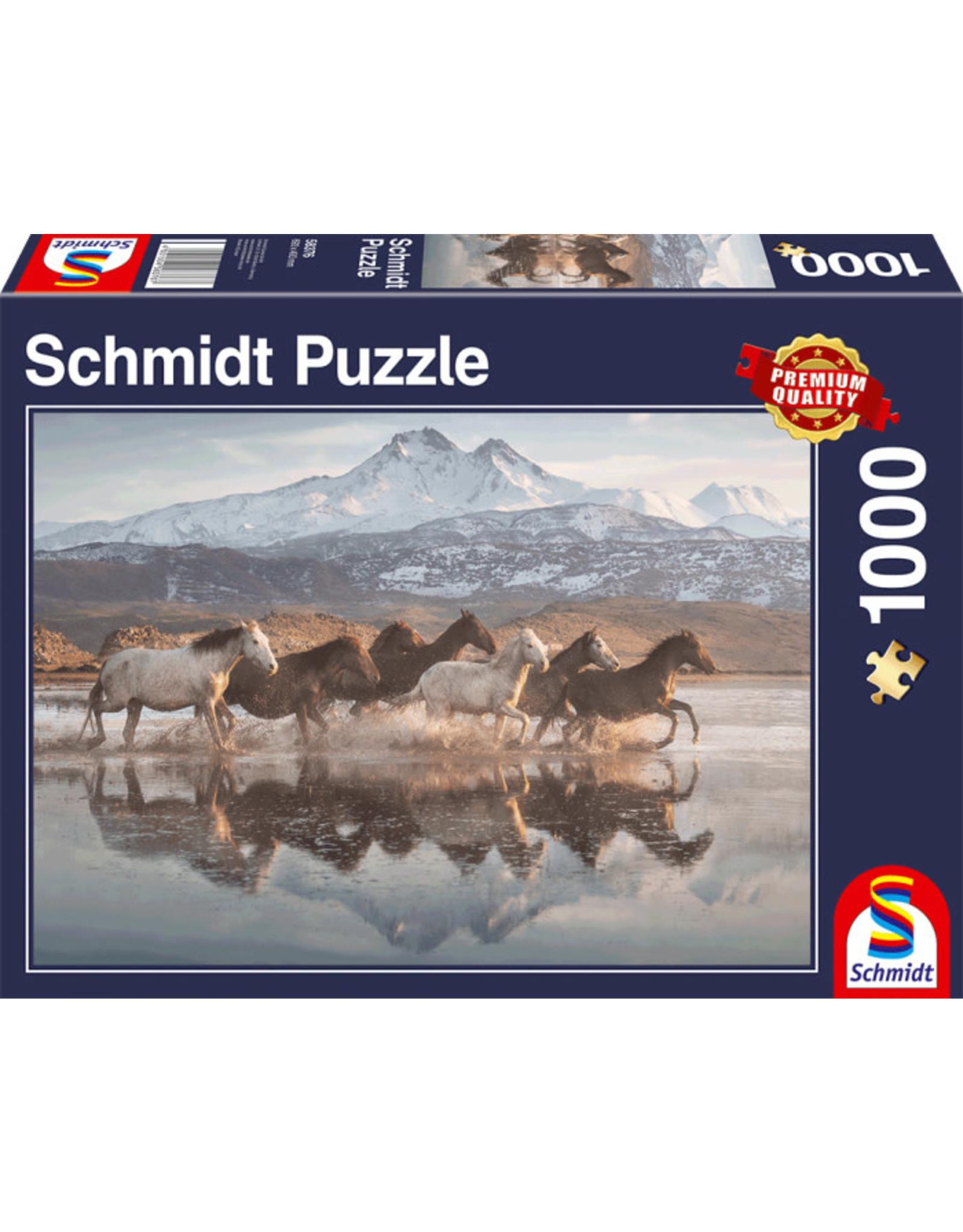 Schmidt Horses in Cappadocia 1000pc Puzzle