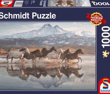 Horses in Cappadocia 1000pc Puzzle