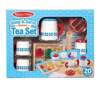 Steep & Serve Wooden Tea Set