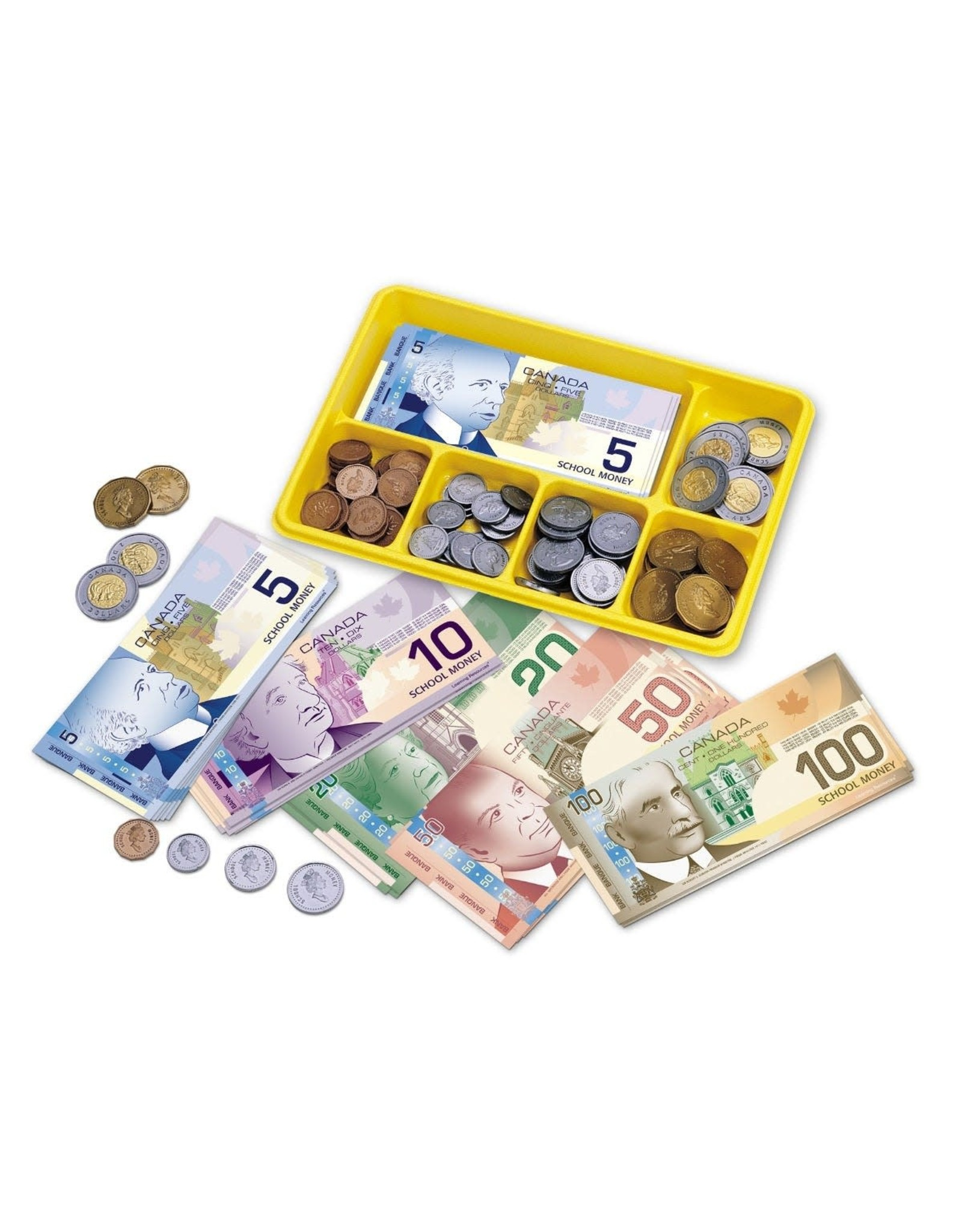 Currency Exchange Canadian Money Play Set