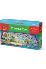 Crocodile Creek Discover Canada 100pc Puzzle