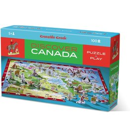 Crocodile Creek Discover Canada 100pc Puzzle