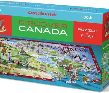 Discover Canada 100pc Puzzle