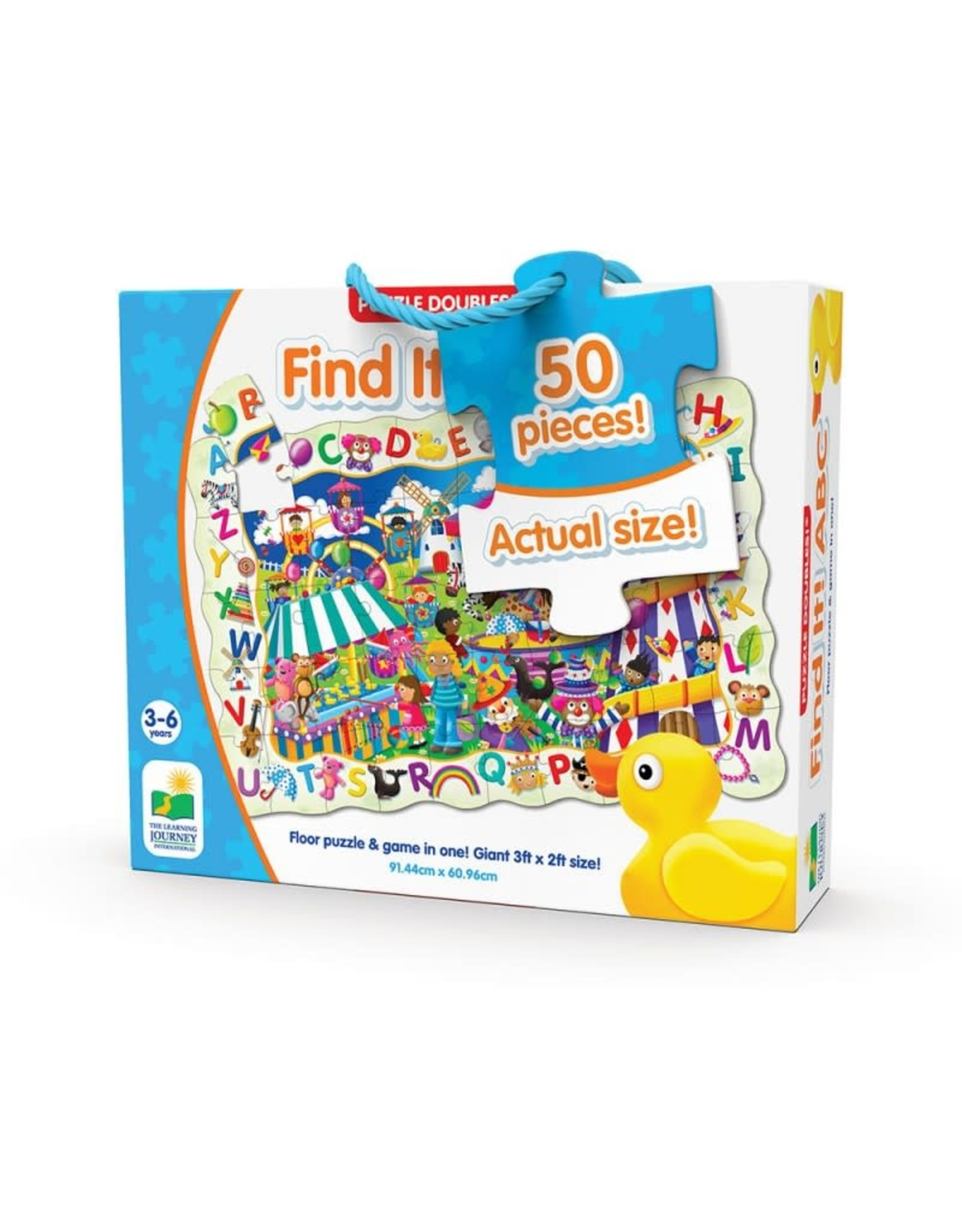 The Learning Journey Puzzle Doubles Find It! ABC