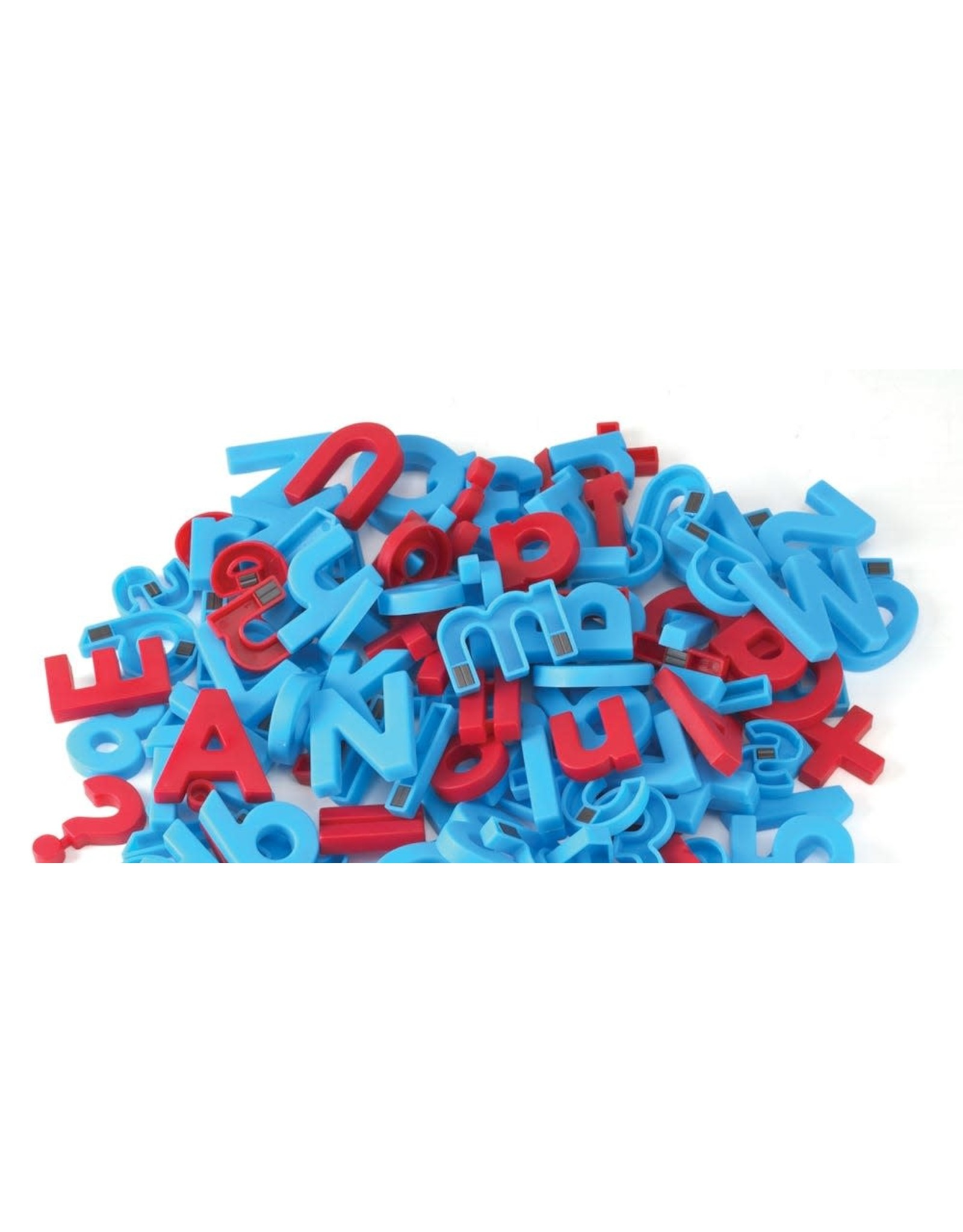 Alpha Magnets: Letters & Numbers 214 Colour-Coded Magnetic Pieces