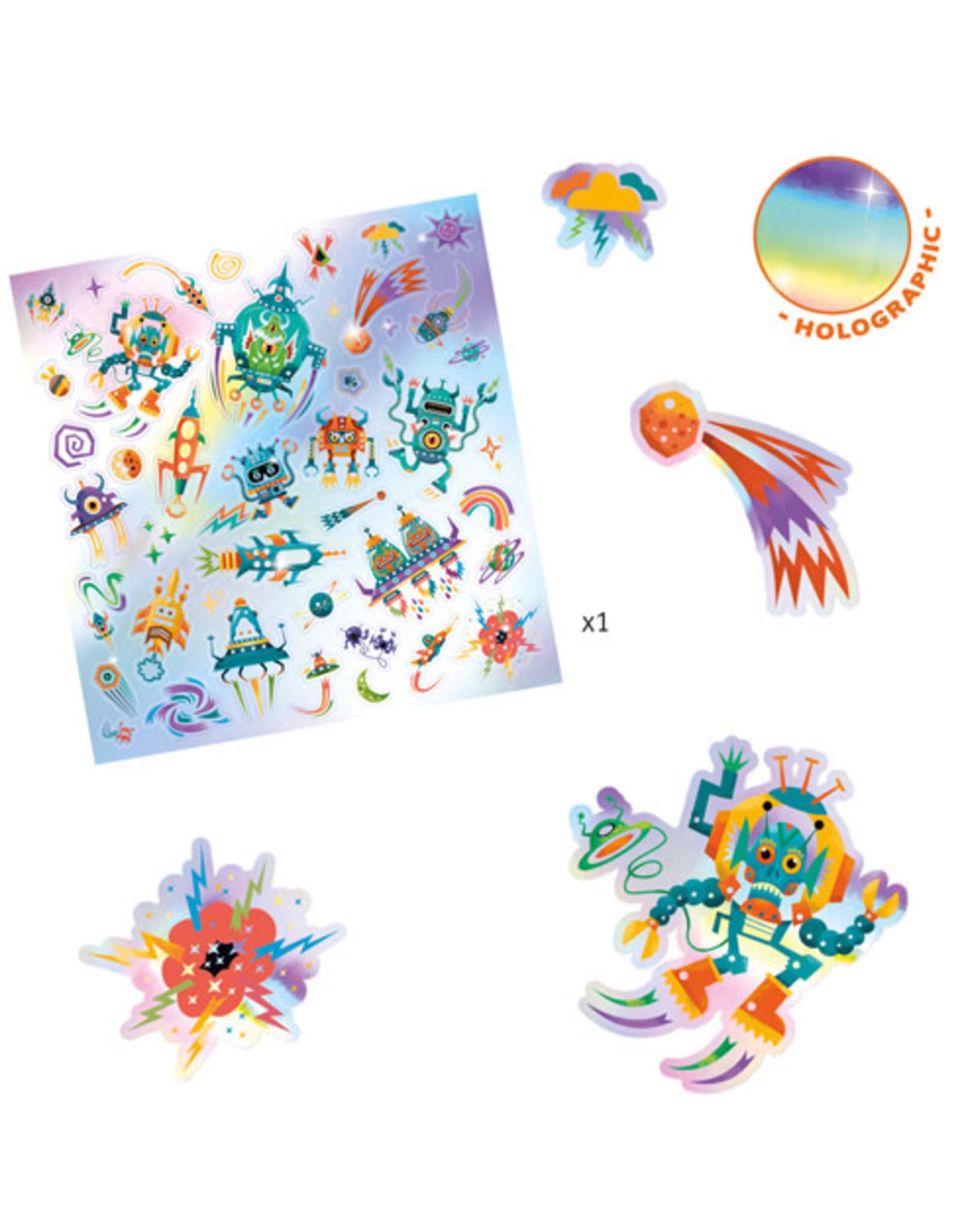 Djeco Intergalactic Stickers