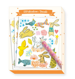 Djeco 120 Elodie Decals (6 sheets 3 styles)