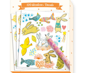 120 Elodie Decals (6 sheets 3 styles)