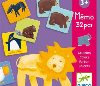 Colour Animals Memory Game