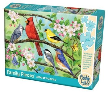 Bloomin' Birds 350pc Family Puzzle