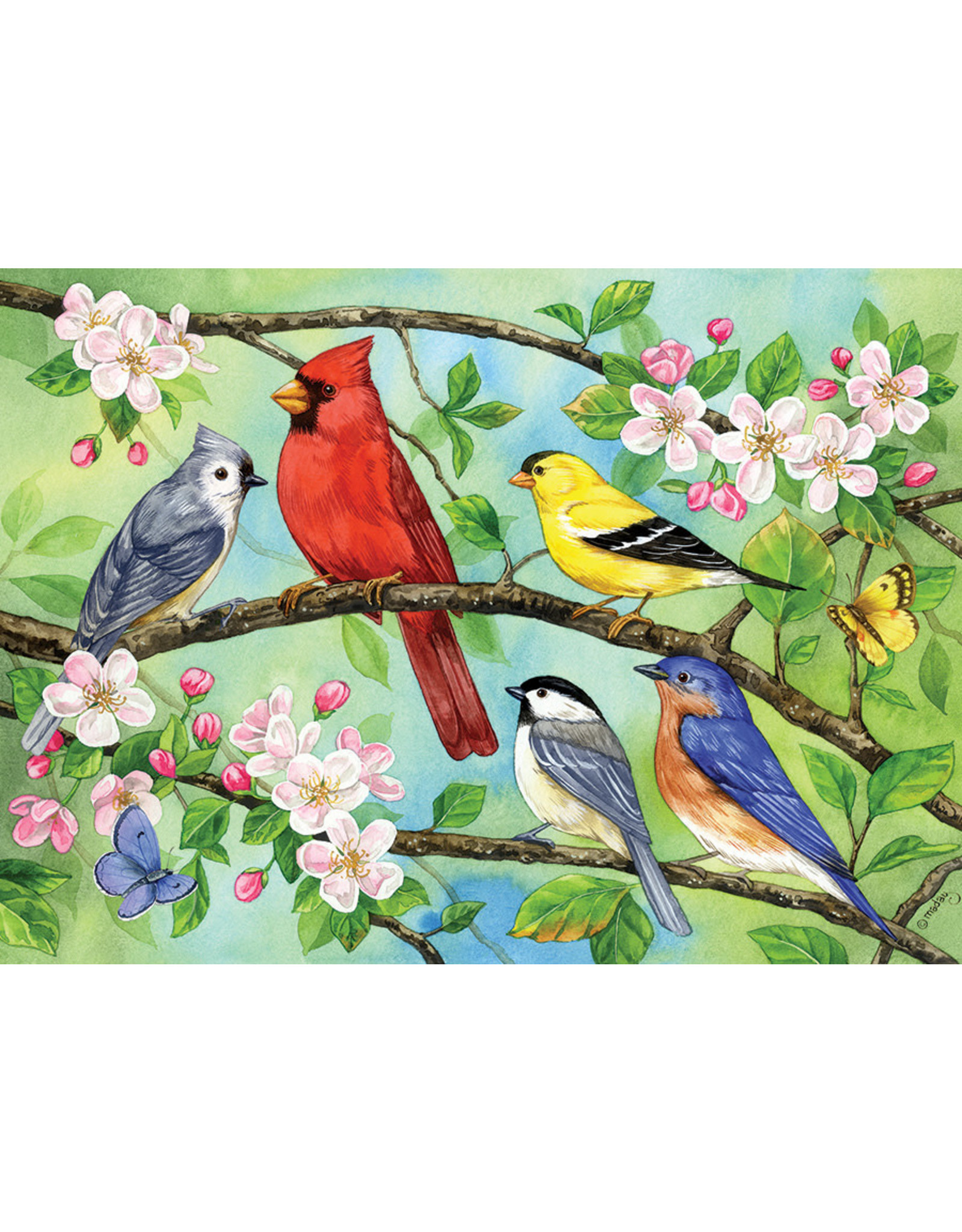 Cobble Hill Bloomin' Birds 350pc Family Puzzle