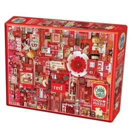 Cobble Hill Red 1000pc Puzzle