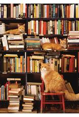Cobble Hill Gotham Bookstore Cats 500pc Puzzle