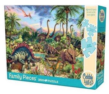 Prehistoric Party 350pc Puzzle