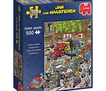 Jan van Haasteren Traffic Chaos 500pc Puzzle