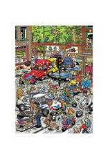Jumbo Jan van Haasteren Traffic Chaos 500pc Puzzle