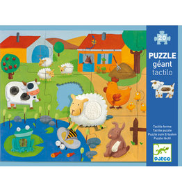 Djeco Tactilo Farm 20pc Tactile Puzzle