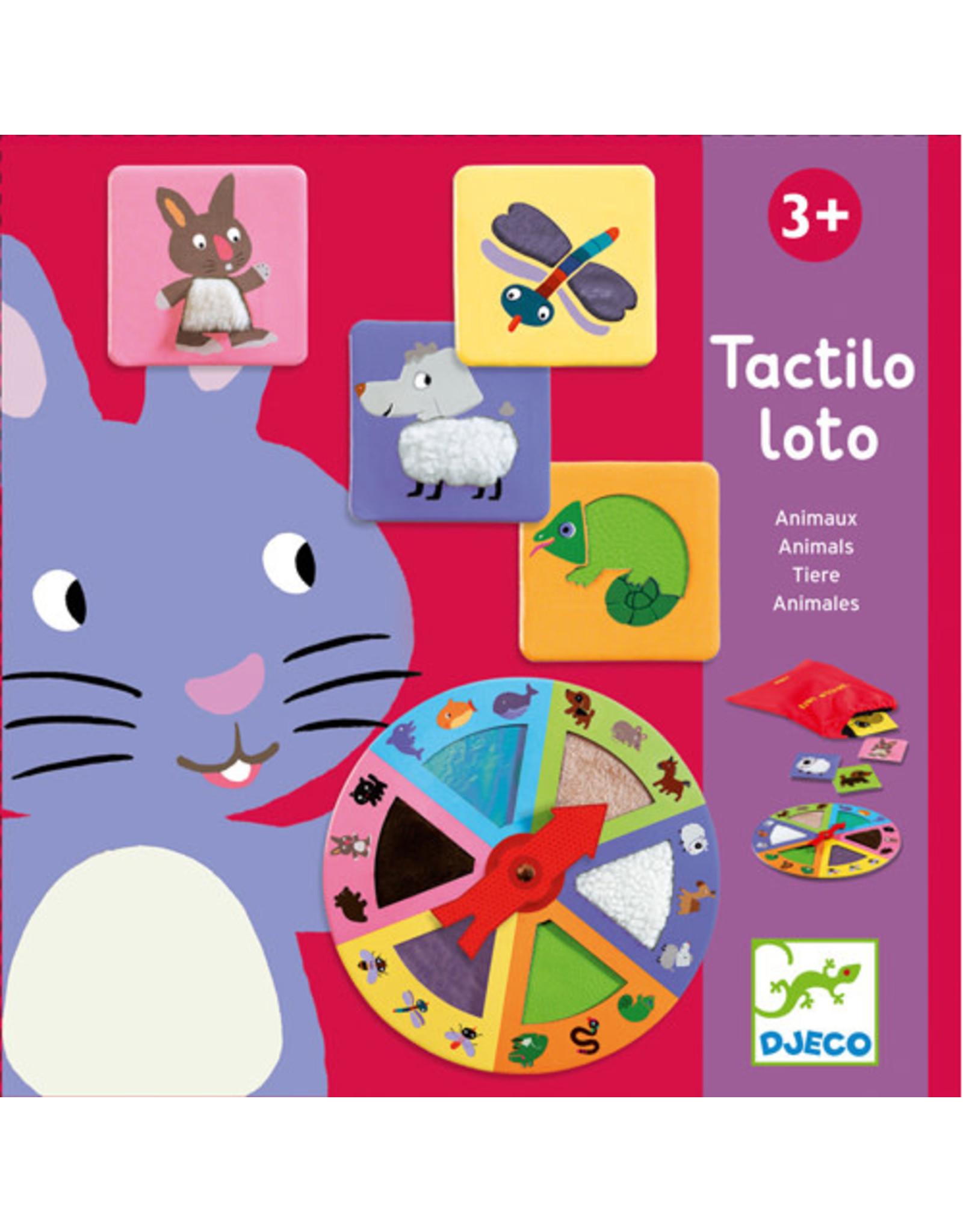 Djeco Tactilo Loto Animals