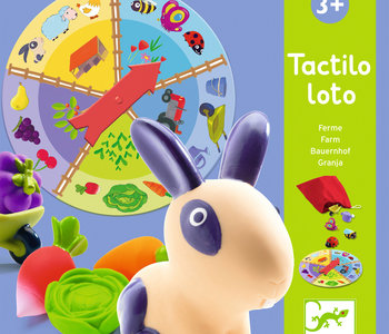 Tactile Discovery Game: Tactilo Loto Farm