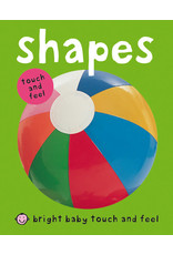 Priddy Books Bright Baby Touch & Feel Shapes