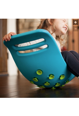 Fat Brain Toys Teeter Popper blue/green dots