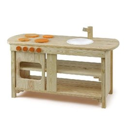 Erzi Wood Indoor / Outdoor Play Kitchen