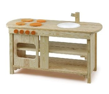 Wood Indoor / Outdoor Play Kitchen