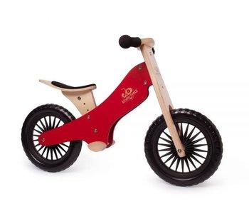 Kinderfeets Classic Balance Bike cherry red